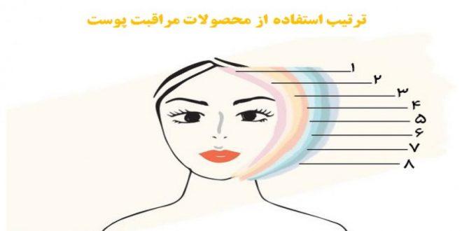 اهمیت ترتیب استفاده از محصولات مراقبتی پوست آرایشی بیست