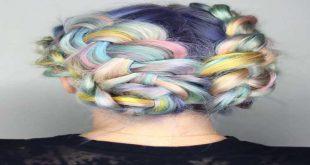قانون ترکیب رنگ مو با واریاسیون در آرایشی بیست