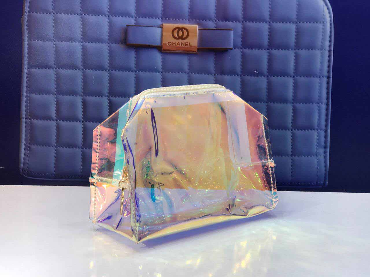 کیف آرایشی طرح شیشه آرایشی بیست