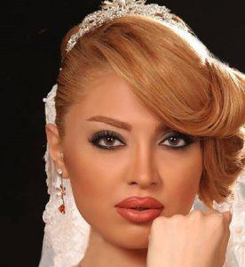 ارایش عروس در ارایشی بیست امارات