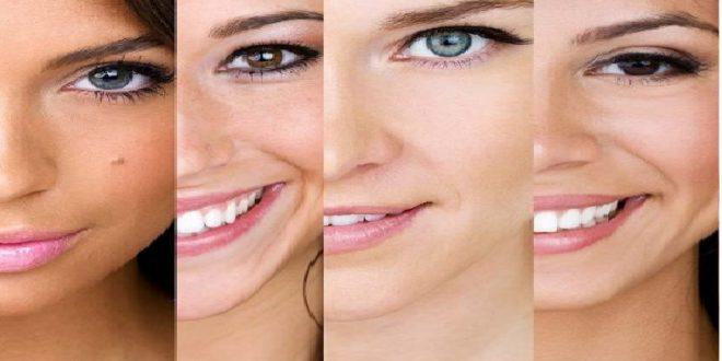 انواع پوست در ارایشی بیست