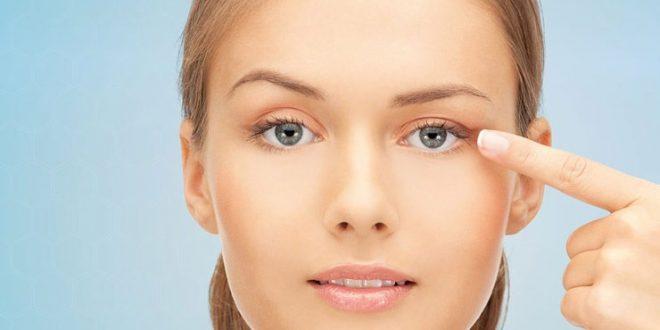 درمان افتادگی پلک در ارایشی بیست