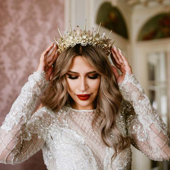 تاج-عروس ارایشی بیست