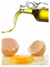 ماسک تخم مرغ و روغن زیتون