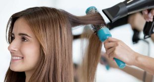 ترفند خشک کردن مو ارایشی بیست