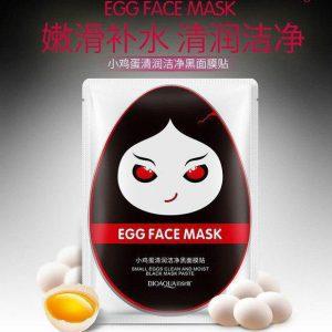 ماسک صورت تخم مرغ سیاه