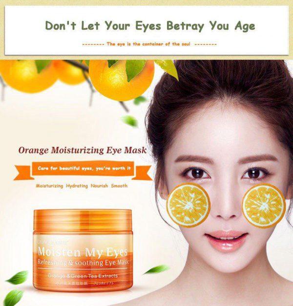 ماسک چشم پرتقال