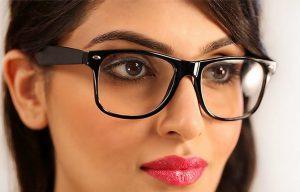 روش آرایش کسانی که عینک میزنند