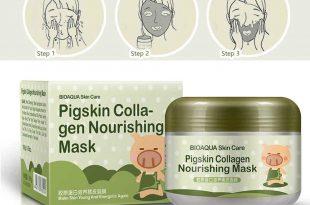 ماسک شب کلاژن مغذی و ضدچروک بیوآکوا ضد آکنه