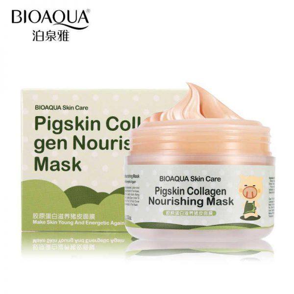 ماسک شب کلاژن مغذی و ضدچروک بیوآکوا