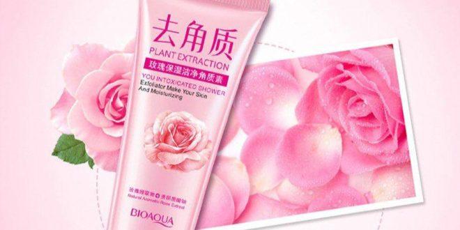 اسکراپ لایه بردار گل رز بیوآکوا سفیدکننده