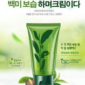 فوم پاک کننده چای سبز رورک