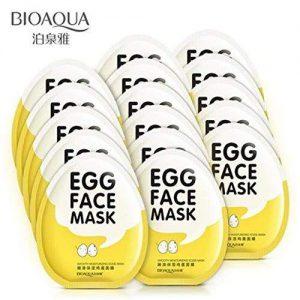 ماسک صورت تخم مرغی بیوآکوا