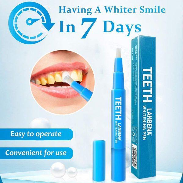 قلم سفیدکننده دندان لانبنا سفیدکننده دندان