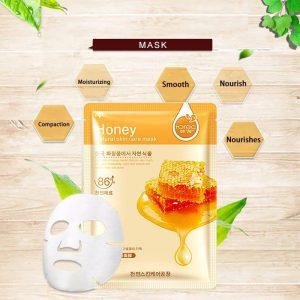 ماسک ورقه ای عسل رورک ترمیم کننده پوست