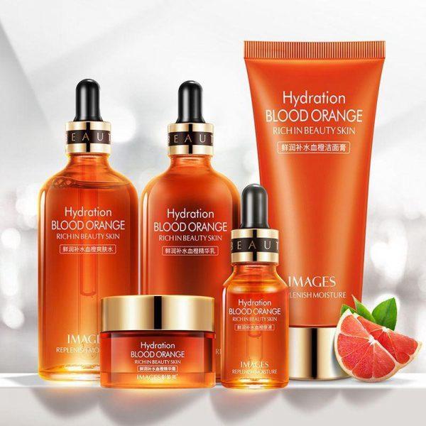 ست ۵ تایی پرتقال خونی ایمیجز ترمیم کننده پوست