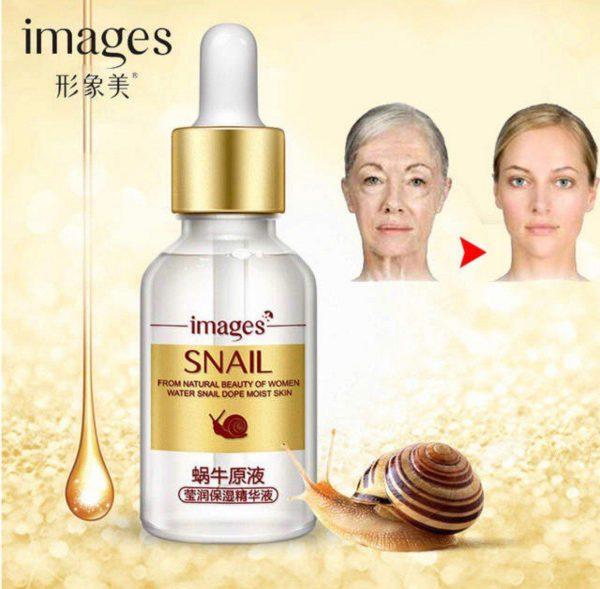 سرم لیفتینگ و ضد پیری پوست حلزون ایمیجز ترمیم کننده پوست