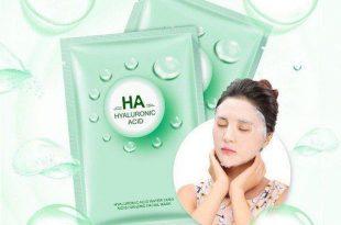 ماسک هیالورونیک اسید ایمیجز سبز ترمیم کننده پوست