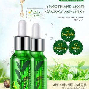 سرم تخصصی ضد چروک و صاف کننده پوست چای سبز رورک