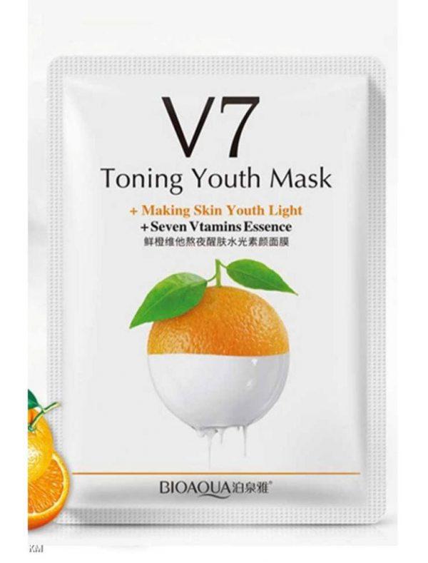 ماسک صورت ورقه ای روشن کننده پرتقال بیوآکوا