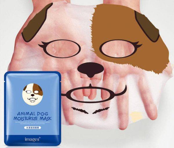 ماسک ورقه ای حیوانات ( طرح سگ ) بیوآکوا