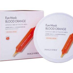 پچ ژله ای دور چشم پرتقال خونی ویتامین C ایمیجز
