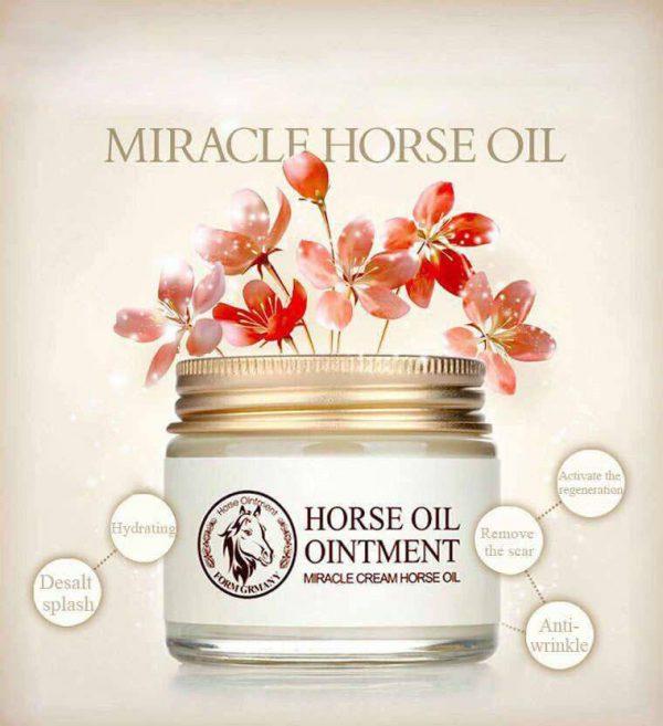 کرم معجزه گر چند کاره درمانی روغن اسب بیوآکوا